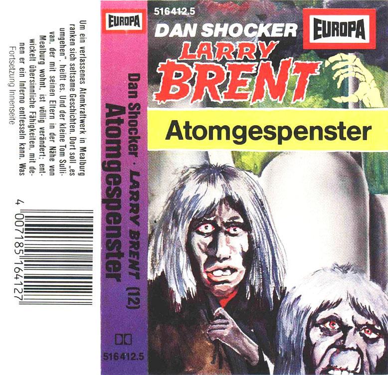 Larry Brent Cassette 12