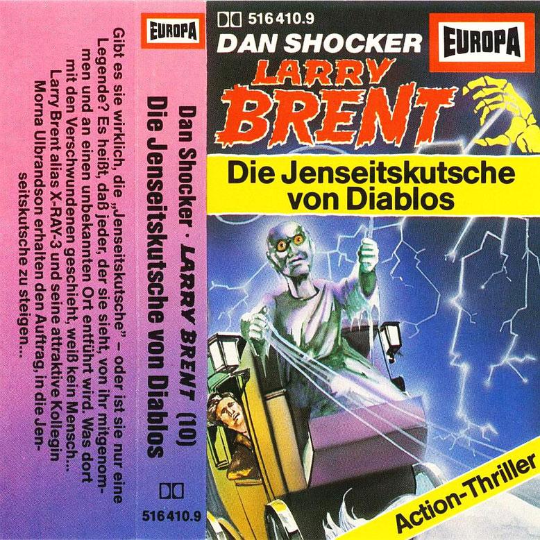 Larry Brent Cassette 10