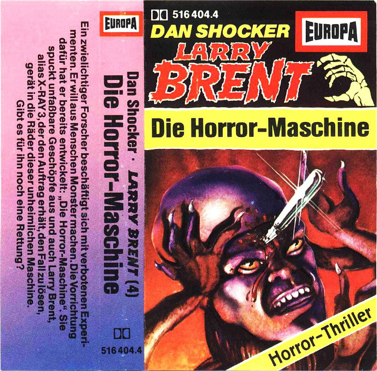 Larry Brent Cassette 4