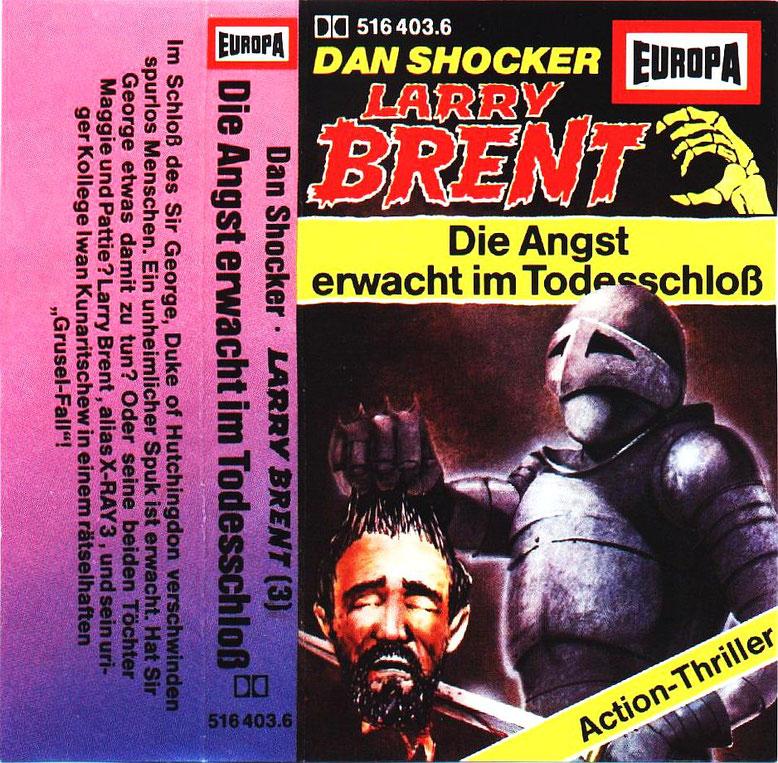 Larry Brent Cassette 3