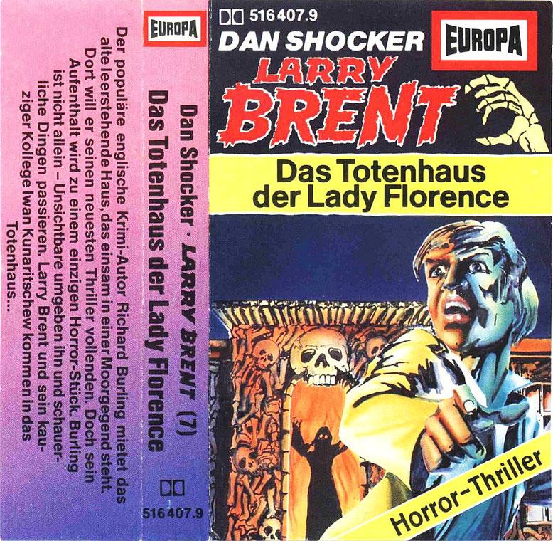 Larry Brent Cassette 7