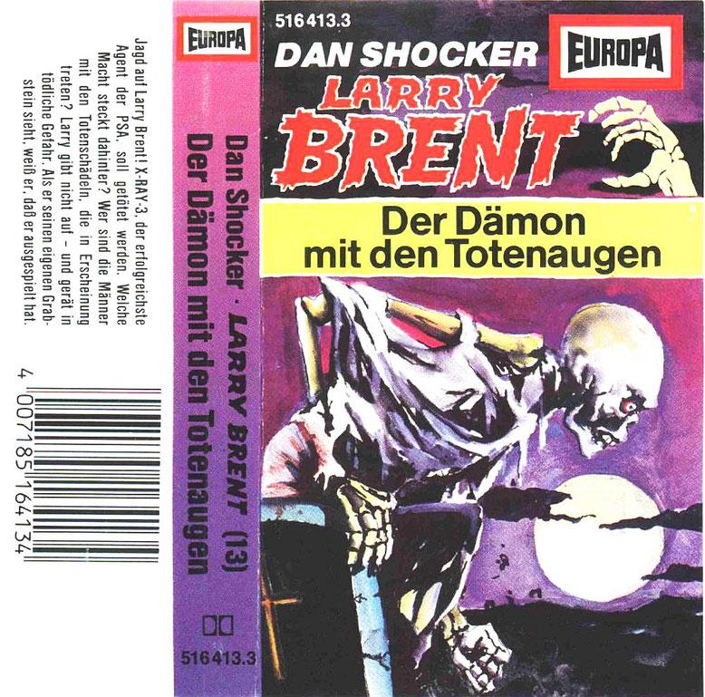 Larry Brent Cassette 13