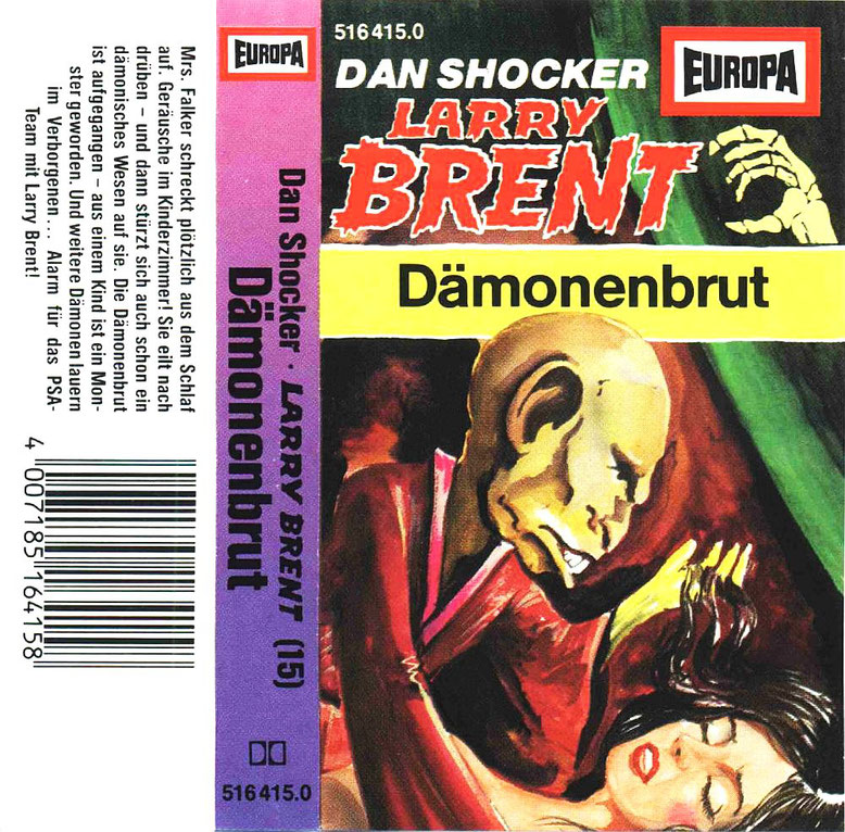 Larry Brent Cassette 15