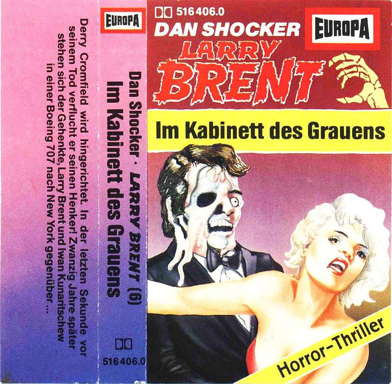 Larry Brent Cassette 6