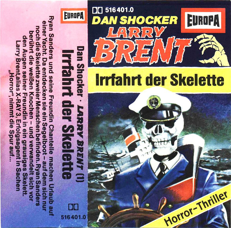 Larry Brent Cassette 1