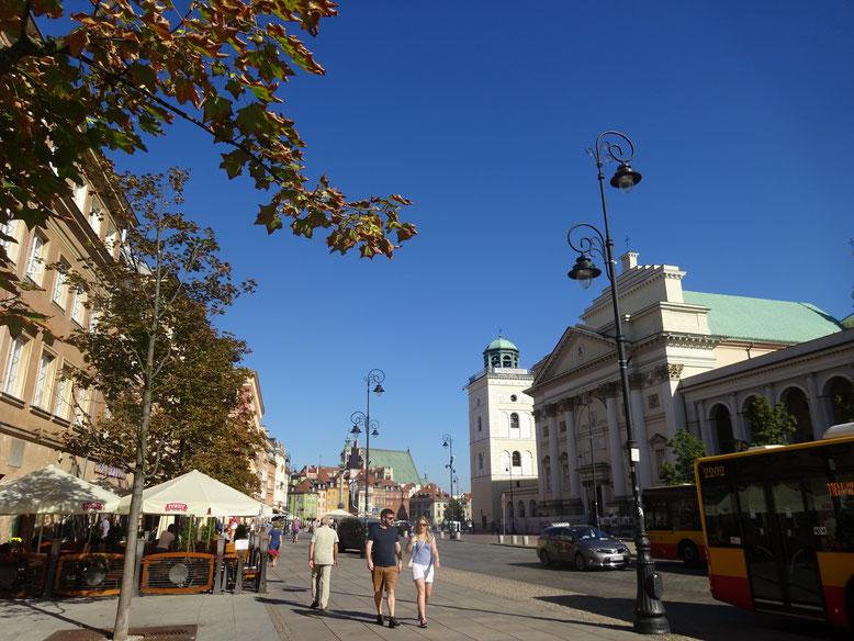 中世のヨーロッパを感じさせる街並みを復元