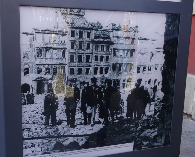 瓦礫と化した街