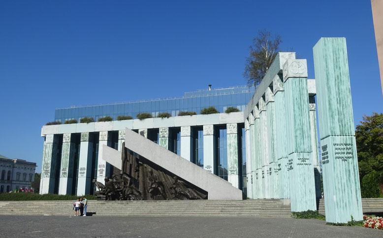 ワルシャワ蜂起の記念碑