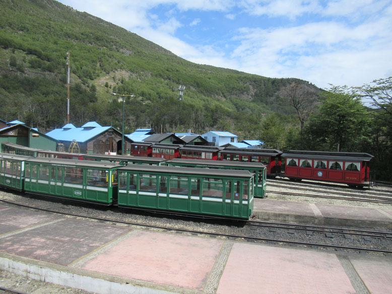 鉄道公園      ティエラ デル フエゴ(火の国)自然公園内