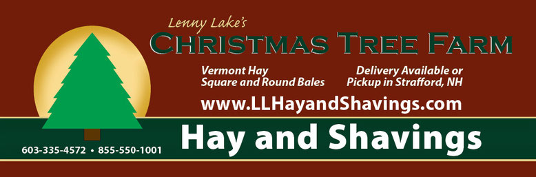 large banner for Christmas Tree Farm