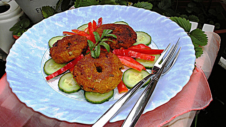 Gemüse - Falafel