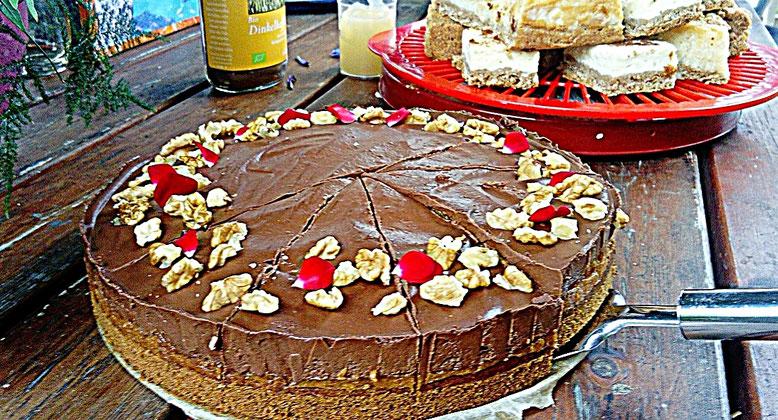 Schokoladen-Kürbis-Kuchen