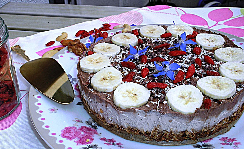 Schoki - Goji - Torte
