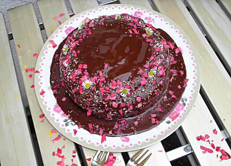Schoko- Koko- Kuchen