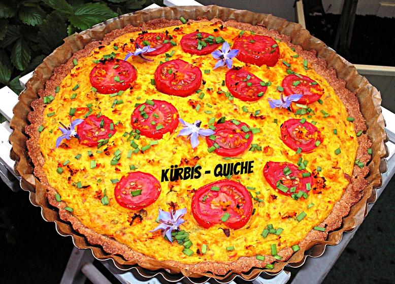 Tomaten - Kürbis - Quiche