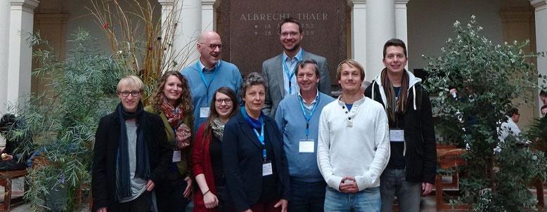 Die Bonner DGG Teilnehmer, © Dr. Michael Blanke, Universität Bonn