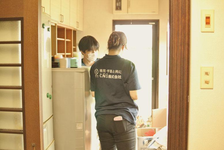 女性スタッフ目線の 仕分への心掛けとは。先日、CNS(シー・エヌ・エス)株式会社に入社しました松山と申します