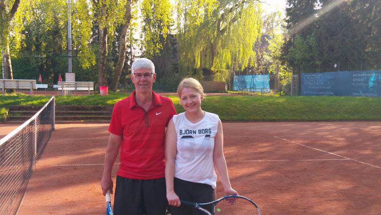 Die ersten Sieger der Saison 2018, Nina Löbbing und Peter Lohmann