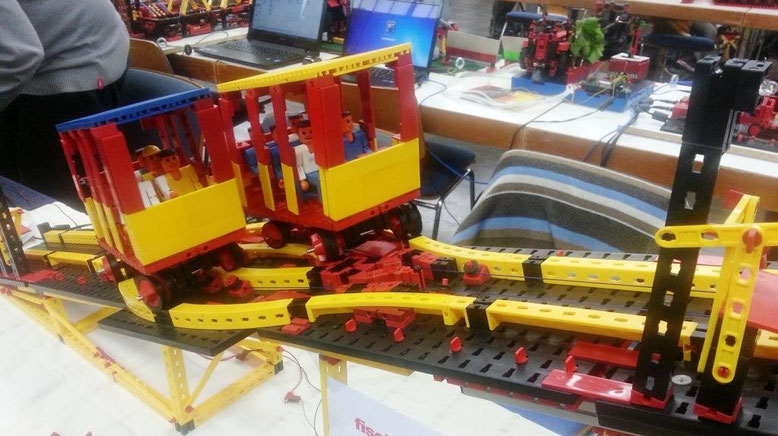 Turmbergbahn aus Fischertechnik