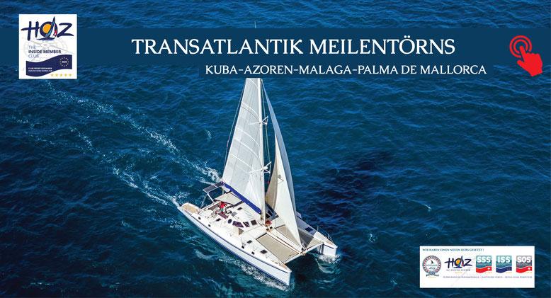 Schweizerische Seefahrtschule | Transatlantik Segeltörns | Yachting and Boating | www.schweizerische-seefahrtschule.ch