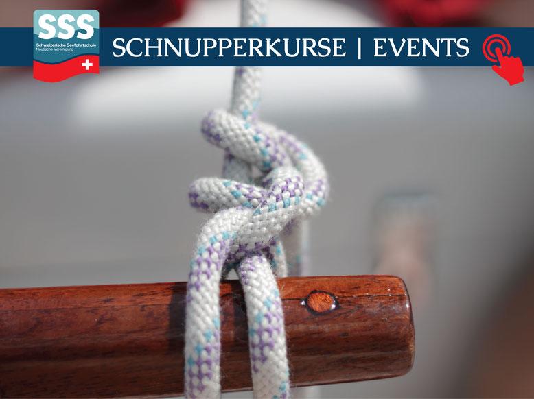 Schweizerische Seefahrtschule |  Schnupperkurse und Events | www.schweizerische-seefahrtschule.ch