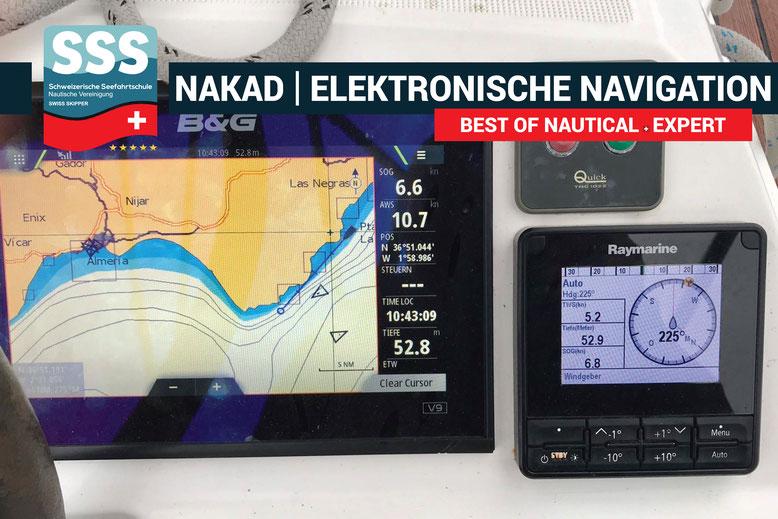Schweizerische Seefahrtschule | Elektronische Navigation | www.schweizerische-seefahrtschule.ch