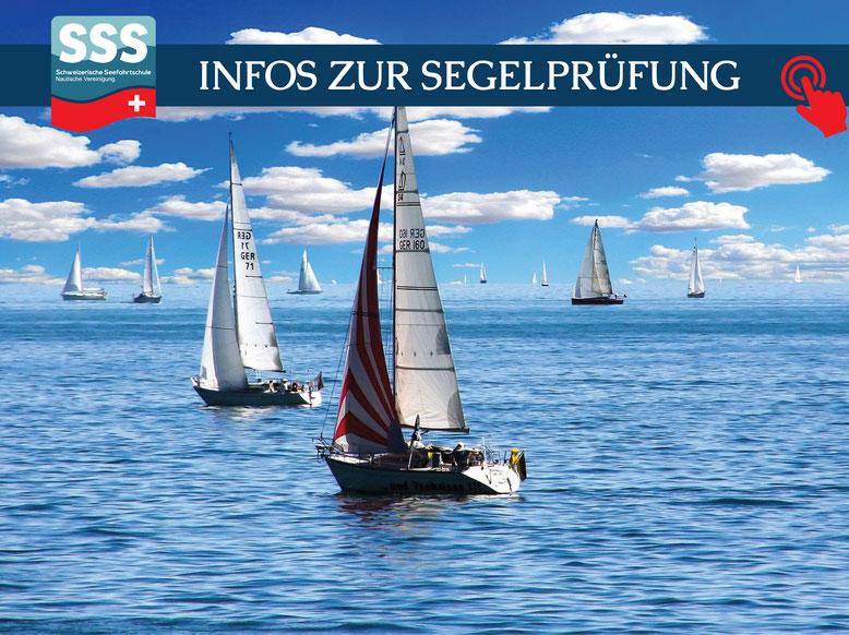 Schweizerische Seefahrtschule | Infos zur Segelprüfung | www.schweizerische-seefahrtschule.ch