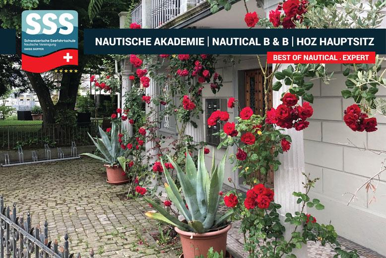 Schweizerische Seefahrtschule | Hochseescheinkurse |  Nautical B & B | www.schweizerische-seefahrtschule.ch