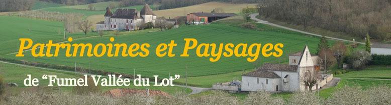 Patrimoines et Paysages Fumel Vallée du Lot