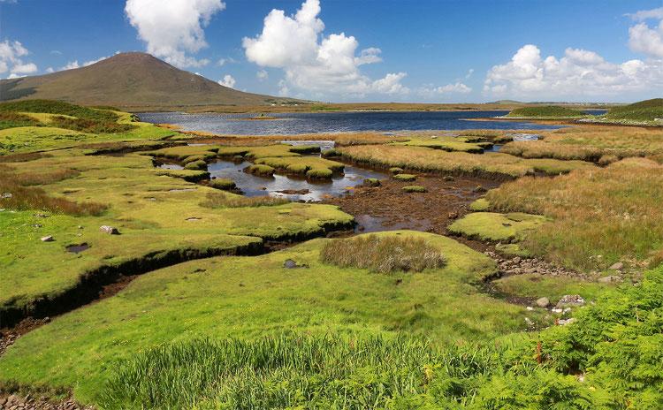 Auf dem Weg nach Achill Island.