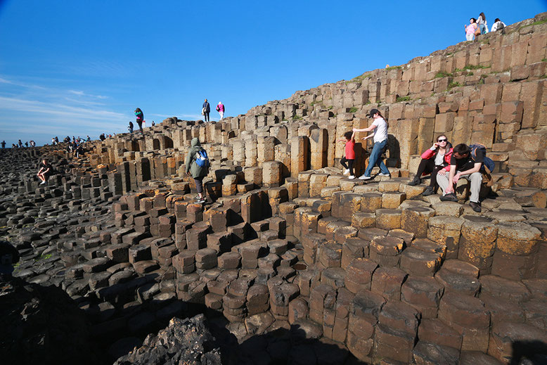 Giant's Causeway, Nord Irland.