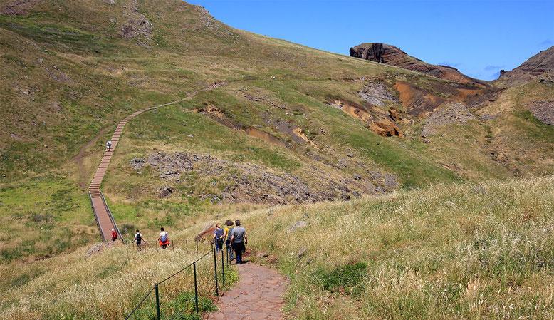 Wanderung über die Ponta de Sao Lorenco, ganz im Osten Madeiras.