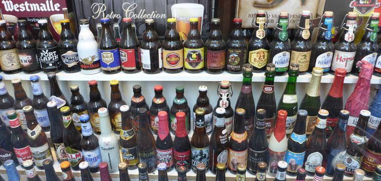 Bier in allen Variationen.