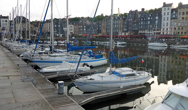 Yachthafen von Honfleur.