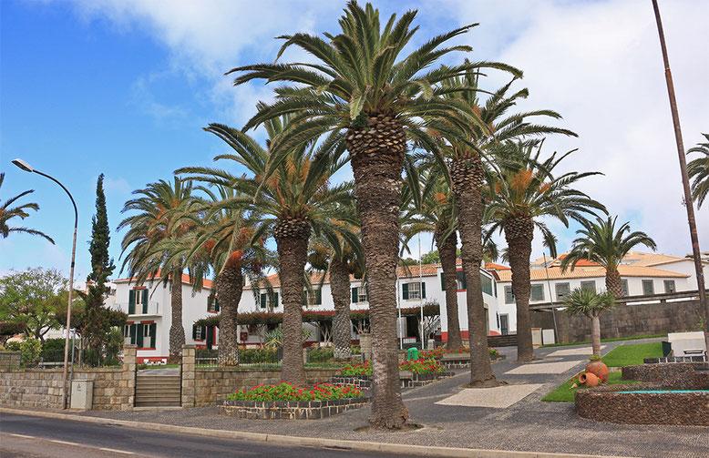Palmengesäumtes Anwesen in Porto Santo.