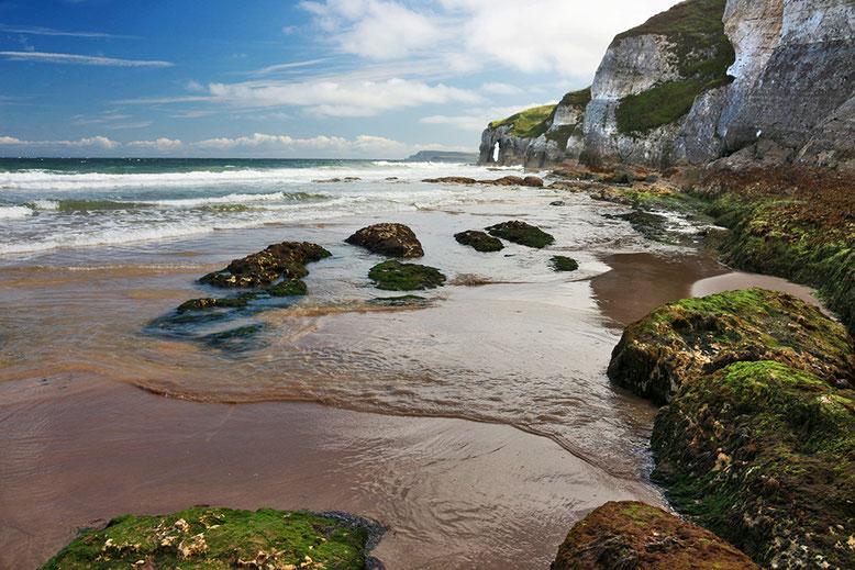 White Cliffs östlich Portrush.