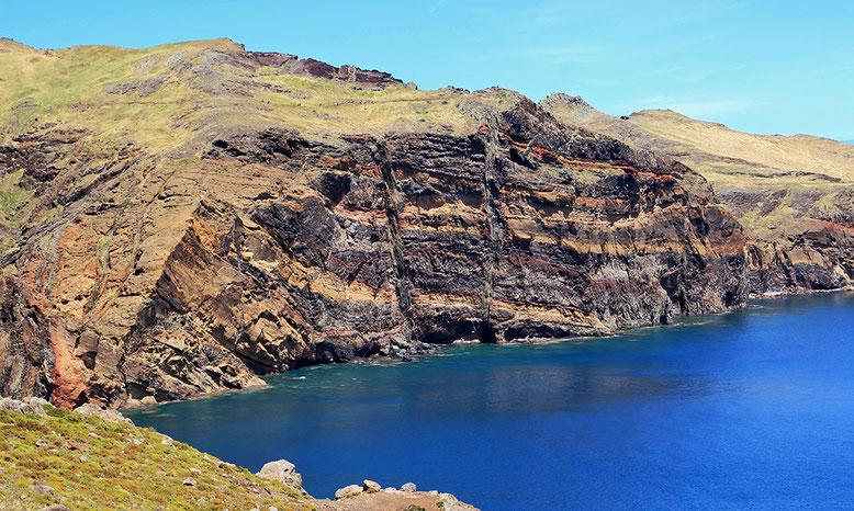 Herrliche Einblicke in die vulkanische Natur der Insel Madeira.