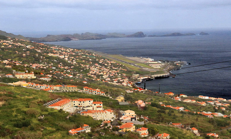 Auf dem Weg von Camacha zur Ponta de São Lourenço.