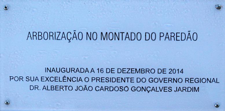 Die Aussichtspunkte am Montado do Paredão wurden erst im