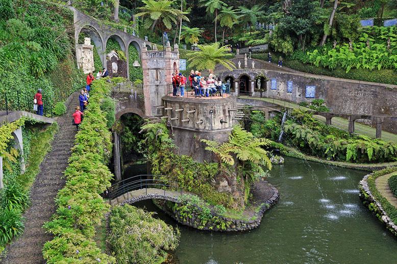 Tropischer Garten Monte Palace.
