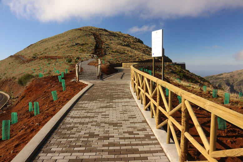 Wegegabel zum Montado do Paredão West bzw. Ost.