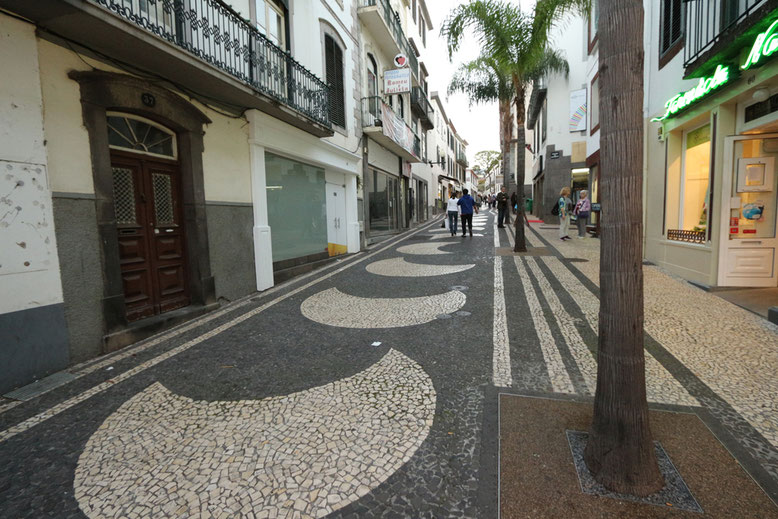 Pflasterzauber in Funchal.