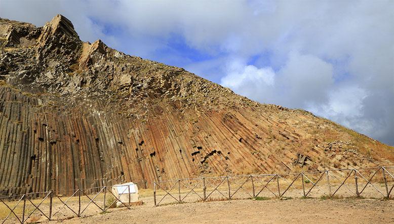 Geotop im Zentrum Porto Santos.