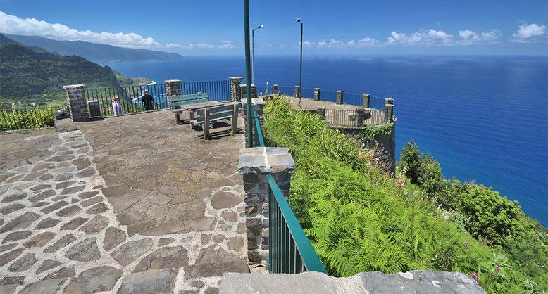 Miradouro da Beira da Quinta, Madeira.