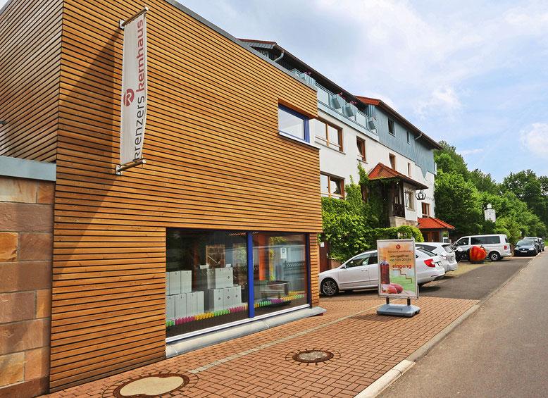 Krenzers Rhönschaf-Hotel: Schau-Kelterei und ApfelSherry-Manufaktur.