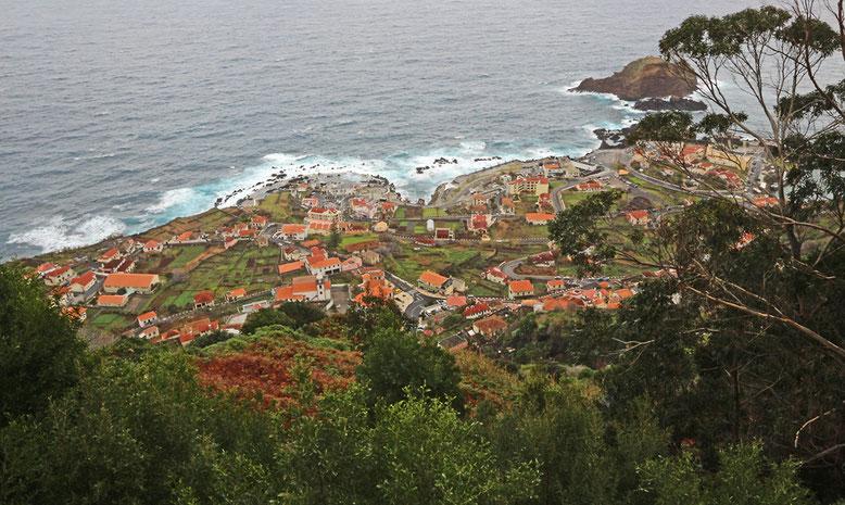 Letzter Blick zurück auf Porto Moniz.