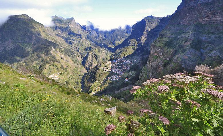 Aussichtspunkt Eira do Serrado hoch über dem Nonnental.