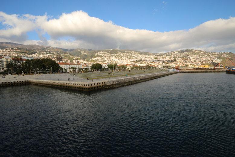 Funchal Hafen.