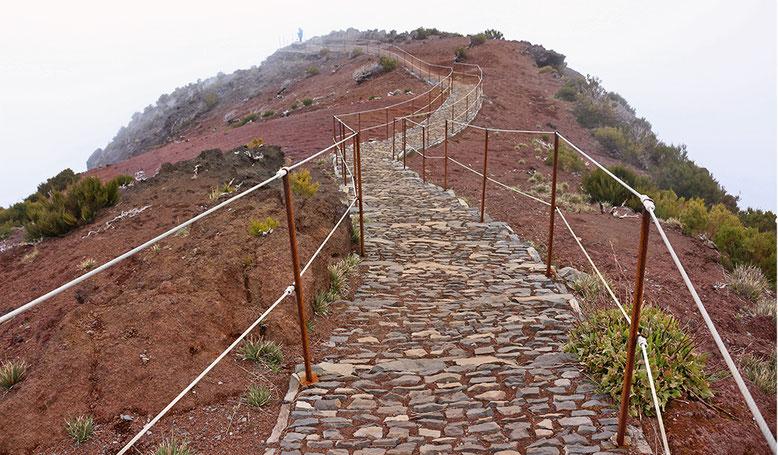 Gipfelplateau des Pico Ruivo.