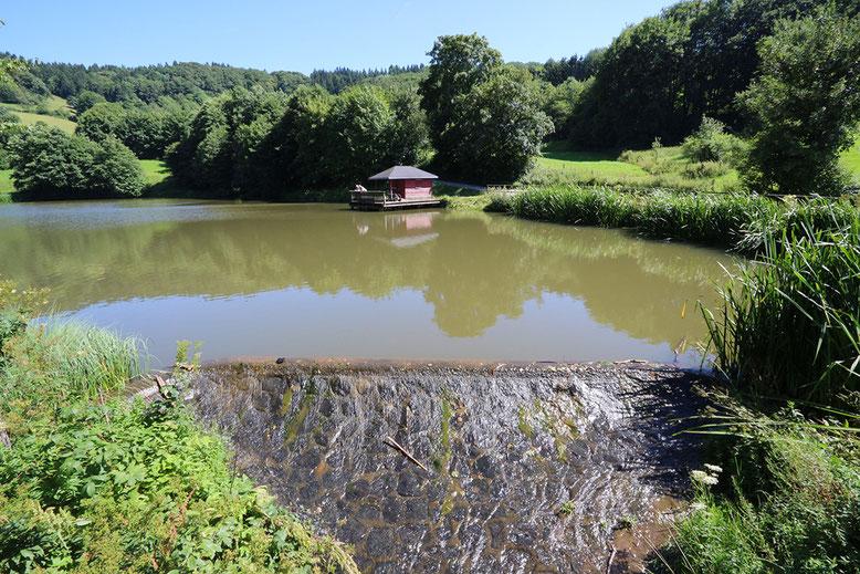 Der obere der beiden Guckai-Seen.